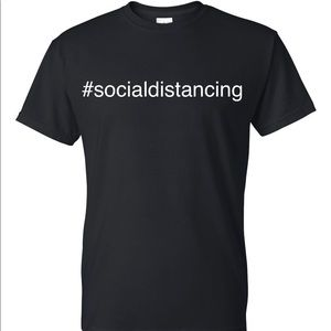 Exclusive #socialdistancing t-shirt by p5Global.